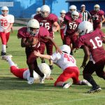 Lamar 7th grade football splits with North Belton
