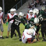 Travis 8th grade football blanks South Belton