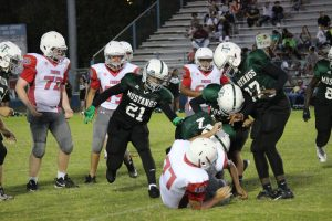 Travis 8th Grade A Football vs. South Belton