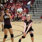 Lamar 8th Grade Volleyball drops two to Lake Belton