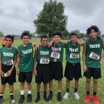 Tamez take 1st Place at Cameron Cross Country Meet
