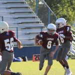 Lamar 8th Grade B Football vs. Cove Lee