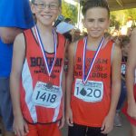 Briac Ybanez claims 7th grade cross country title