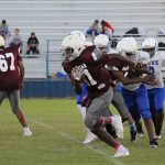 Lamar 8th grade football results vs. Copperas Cove