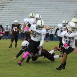 Travis 8th grade football results vs. Lamar