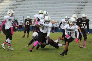 Travis 8th Grade A Football vs. Lamar
