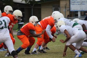 Bonham 7th Grade A Football vs. Travis