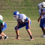 Bonham 8th Grade A Football vs. Travis
