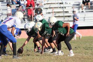 Travis 8th Grade A Football vs. Bonham