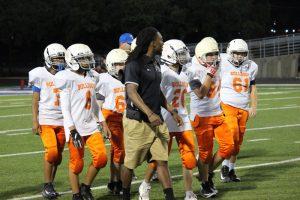 Bonham 7th Grade A Football vs. Lamar