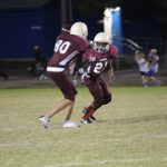 Lamar 7th Grade A Football vs. Midway Blue