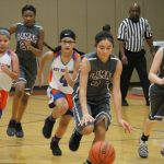 Lamar 7th grade girls basketball results vs. Bonham
