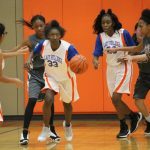 Bonham 8th Grade girls basketball results vs. Lamar