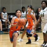 Bonham girls 7th grade basketball results vs. Travis