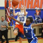 Bonham 7th grade girls basketball results vs. Copperas Cove