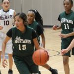 Travis 8th grade girls basketball results vs. Lamar