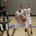 Lamar 8th Grade girls basketball results vs. Travis