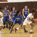 Freshman girls basketball picks up first district win at Killeen