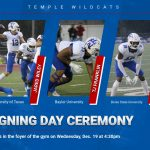 National Signing Day Ceremony set for Wednesday