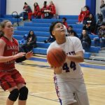 Freshman girls drop close game to Heights