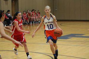 Bonham Girls 7th Grade A Basketball vs. North Belton