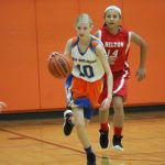 Bonham girls 7th grade basketball results vs. North Belton