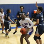 Freshman girls basketball falls to Shoemaker
