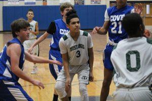 Travis Boys 8th Grade B Basketball vs. Copperas Cove