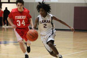 Lamar Boys 8th Grade B Basketball vs. Lake Belton