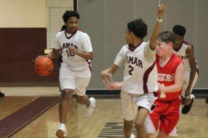 Lamar Boys 8th Grade A Basketball vs. Lake Belton