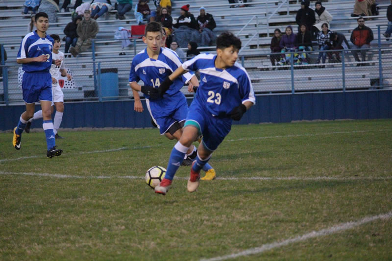 JV B Boys soccer tops Heights for first win of season
