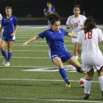Lady Wildcats kick past Lady Lions