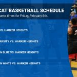 Wildcat Basketball game time changes for Harker Heights