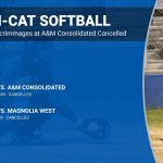 Temple softball scrimmages cancelled