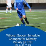 Wildcat Soccer changes with Midway