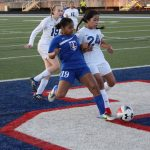 Strong team effort propels JV girls soccer past Cove