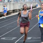 Lamar girls 7th grade track results from the Lamar Invitational