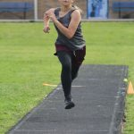 Lamar Girls 7th Grade Track at the Travis Invitational