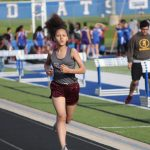Lamar Girls 7th grade track results from the Travis Invitational