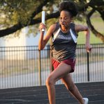 Lamar Girls 8th grade track results from the Travis Invitational