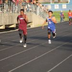 Lamar Boys 8th grade track results from the Travis Invitational