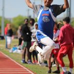 Bonham 7th and 8th Grade Boys Track at the District Meet Day 1