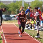 Lamar 7th and 8th Grade Boys at the District Meet Day 1