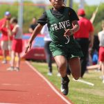 Travis 7th Grade Boys at the District Meet Day 1