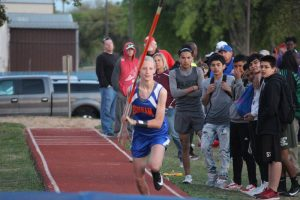 Bonham 7th Grade Girls Track at the District Meet – Day 1