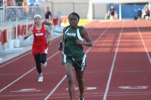 Travis Girls 7th and 8th Grade Track at the District Meet – Day 2