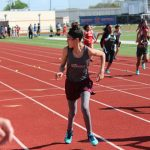 Lamar 7th Grade Girls Track at the District Meet - Day 2