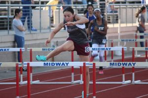 Lamar Girls 8th Grade Track at the District Meet – Day 2