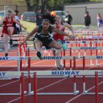 Travis 7th grade girls track results from the District Meet