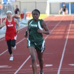 Travis 8th grade girls track results from the District Meet